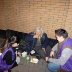 Weekly Food Distribution to the Shanghai Homeless